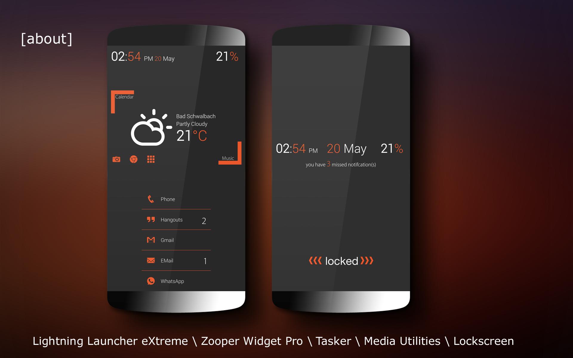 Zooper widget templates   Top 10 Best Zooper Widget Skins Android
